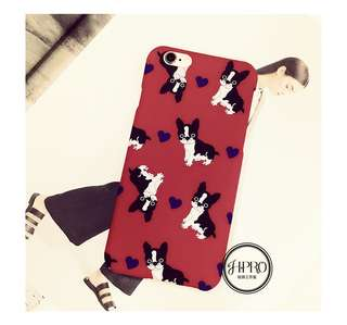 Lovely iPhone6/6s Phone Case (Puppys)