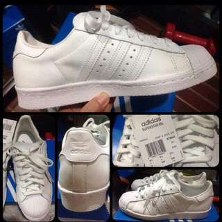 Aunthentic Adidas Superstar All White