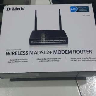 Wireless N ADSL2 MODEM ROUTER