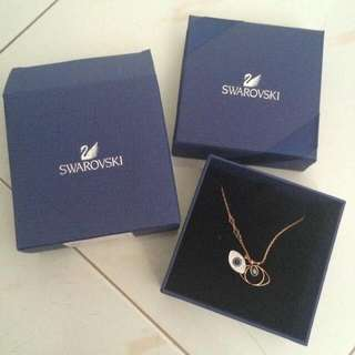 Swarovski Duo Evil Eye Necklace