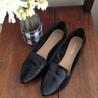 Miss Shop Pointed Ballet Flats
