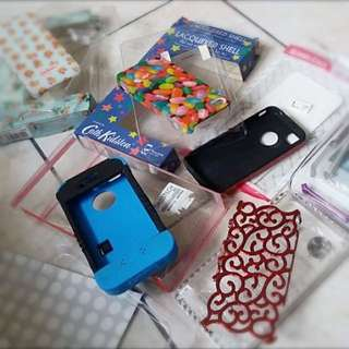 7 pcs. Iphone 4g/4s Hard And Soft Cases