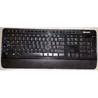 Microsoft Wireless Keyboard (Without USB Dongle)