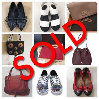 Sold Items, Thank You! 🙏🏼
