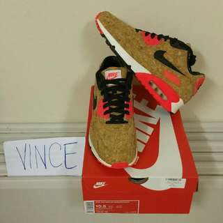 AIR MAX 90 CORK(part of 25th anniversary collection) US 10.5