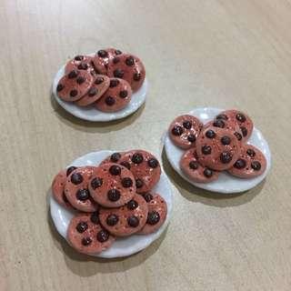 Handmade Miniature Chocolate Cookies @ $0.40 Each