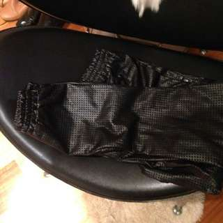 Style Stalker Faux Leather Trackies