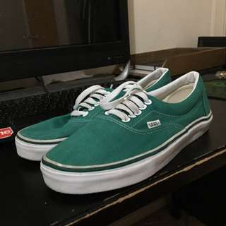 **SHIPPING INC** Vans Emerald Green SIZE US9