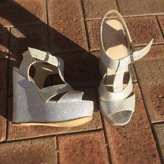 Betts Wedges. Silver