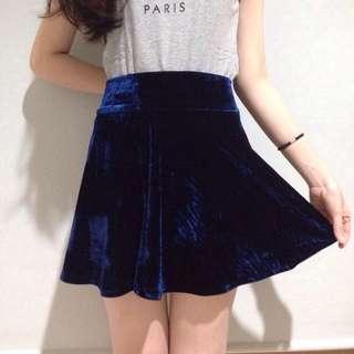 Bludru Skirt