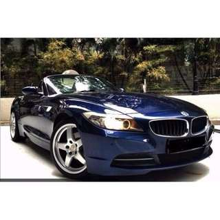 BMW Z4 for Rental - S23i / S35i