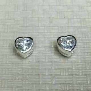 silver earings