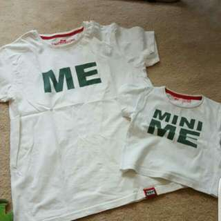 Mother And Son Customise Shirr