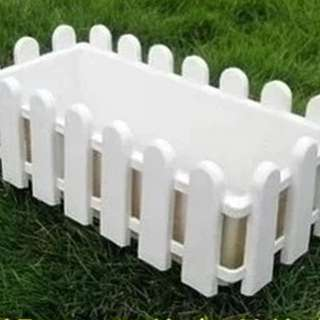 Popular ! Beautiful Trendy White Planter, 2 Sizes Available