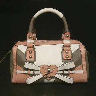 Pink Guess Handbag Brand New Without Tags