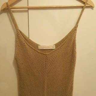 Zara Knit Maxi Dress Size M