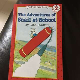 I Can Read Level 2 - The Adventures Of Snail At School
