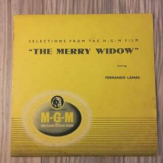 Vinyl LP The Merry Widow