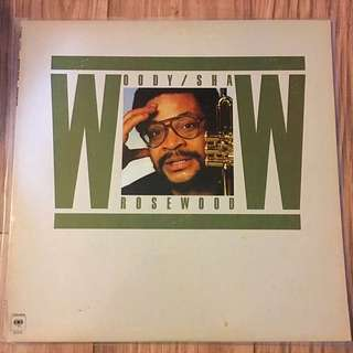 Vinyl LP Record Woody Shaw Rosewood
