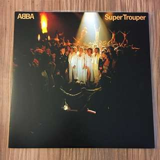 Vinyl LP Record Abba Super Trouper