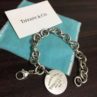 Tiffany & Co Round Tag Bracelet