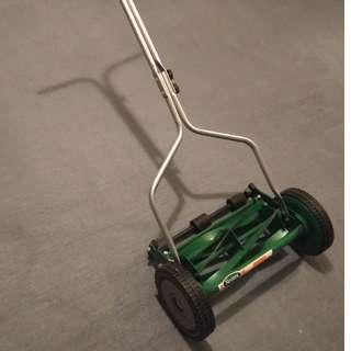 Scotts 14-inch turf push reel mower
