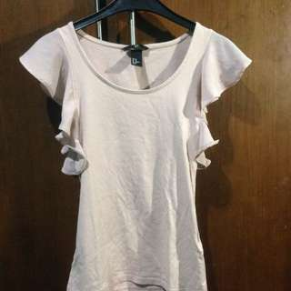 HNM Nude Pink Top