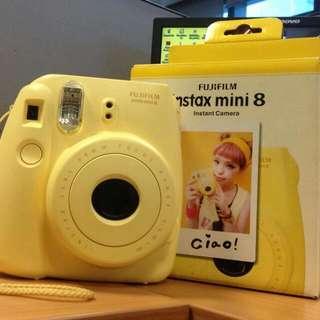 Instax Mini 8 with 10 pieces film