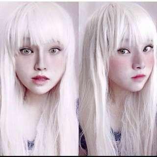 Best Of Crystal Fiber Platinum Blonde Full Wig