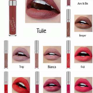 Colourpop Matte And Glossy Lipsticks