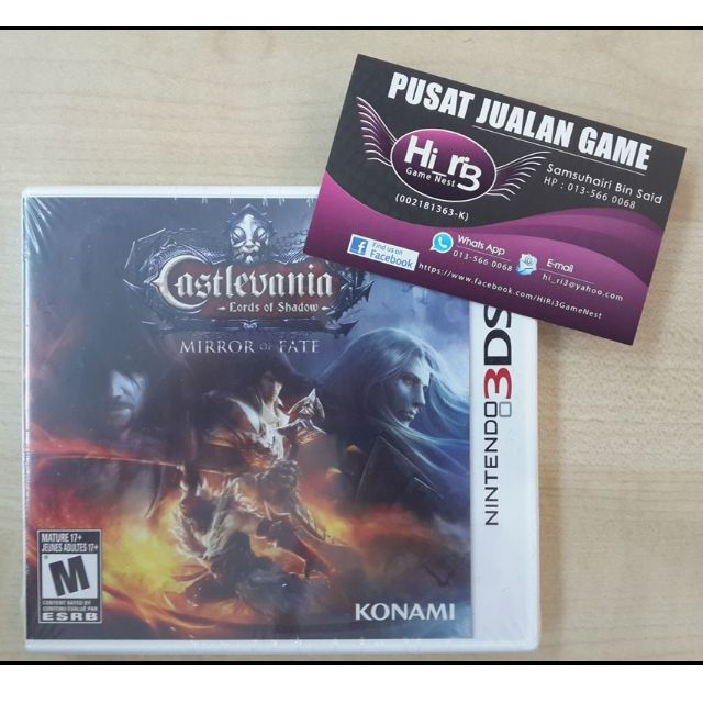 3DS : Castlevania : Lords Of Shadow : Mirror Of Fate (NTSC-U) (FREE  SHIPPING!!!)