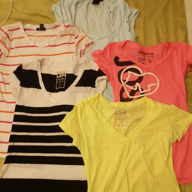 5 Shirts For 5$