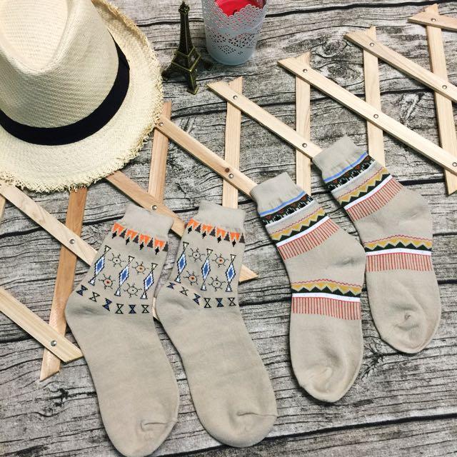 幾何圖形襪🍂#好秋服飾