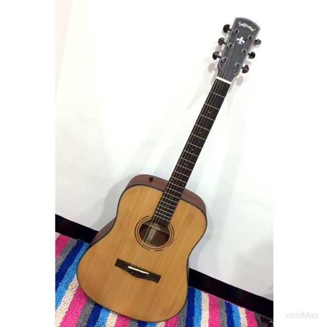 單板二手吉他✨付全新弦、琴袋、移調夾