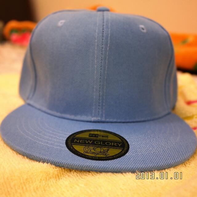 4水藍帽子(搭配白衣立馬變型男)