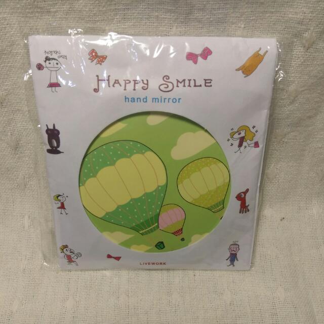 熱氣球小圓鏡