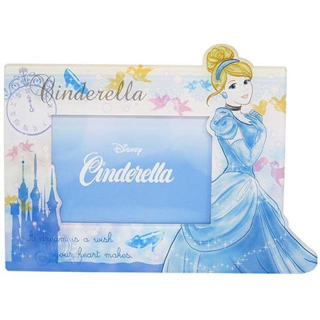 預購 仙度瑞拉灰姑娘仙履奇緣磁鐵兩用相框日本代購正版迪士尼禮物