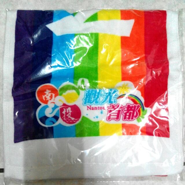 長版 彩虹運動毛巾