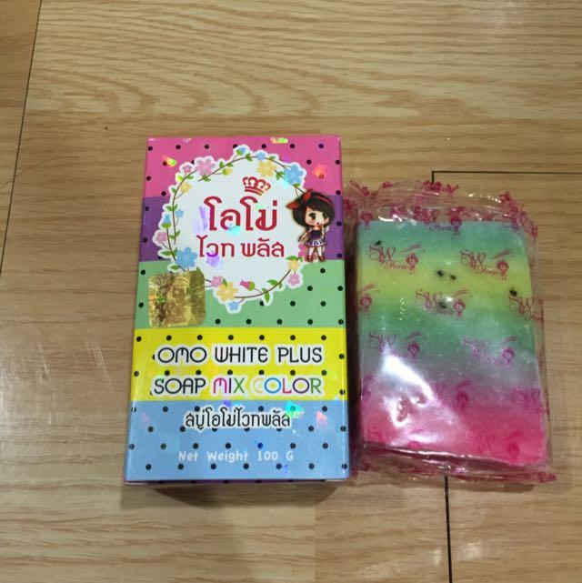 泰國正貨 彩虹美白皂