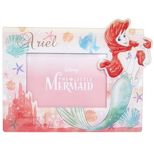 預購 小美人魚艾莉兒 磁鐵兩用相框日本代購正版迪士尼禮物