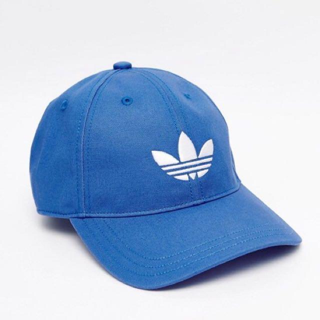 正品 愛迪達 Adidas Originals 水藍色帽子