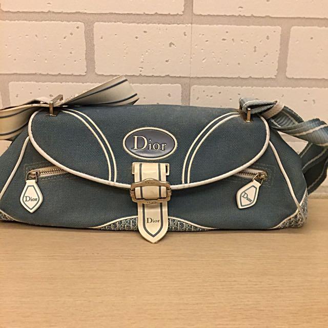 (含運費)正貨® Dior 淑女側背包