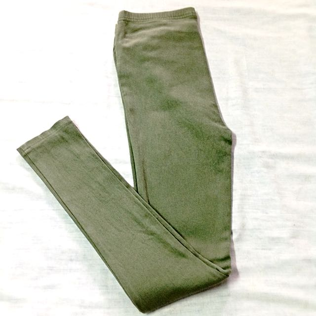 Army Green Jeggings