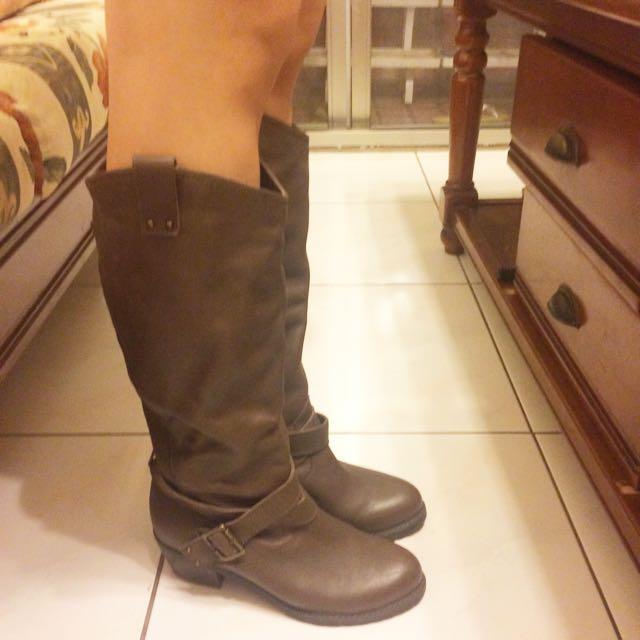 As. Co長靴棕色