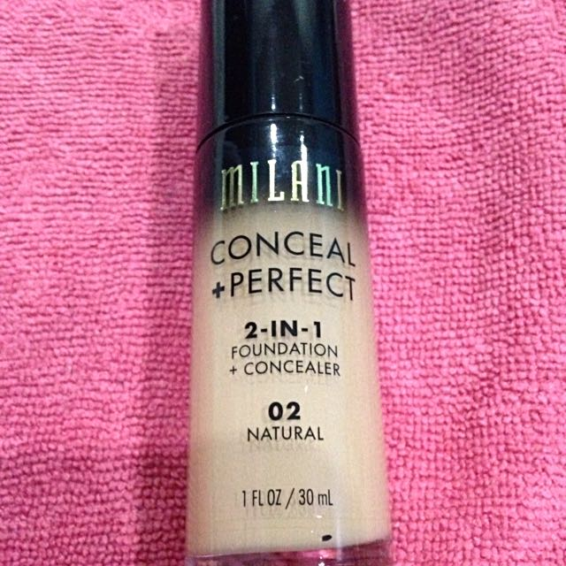 Authentic Preloved Milani Conceal + Perfect Foundation