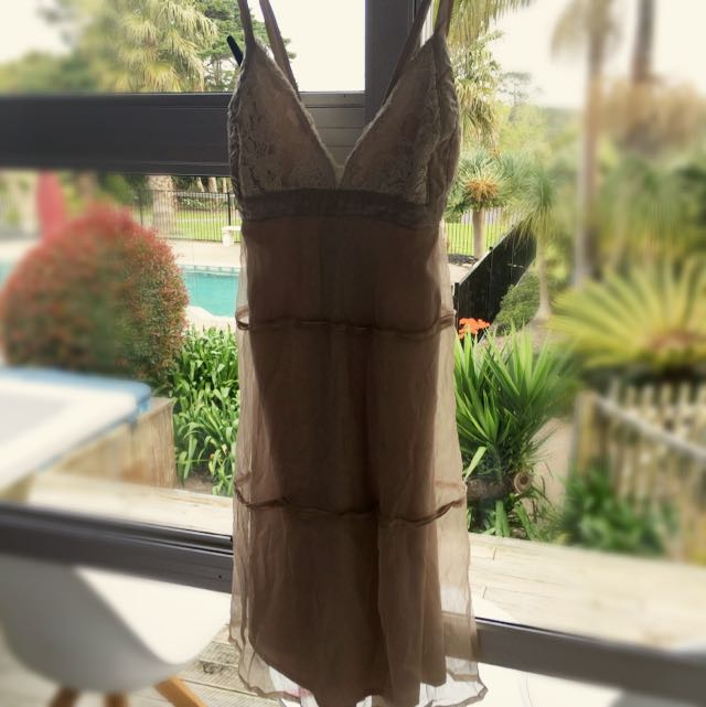 Bardot Evening Dress