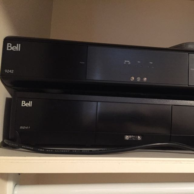 Bell Express Vu Hi Def 9241, 9242 Receivers