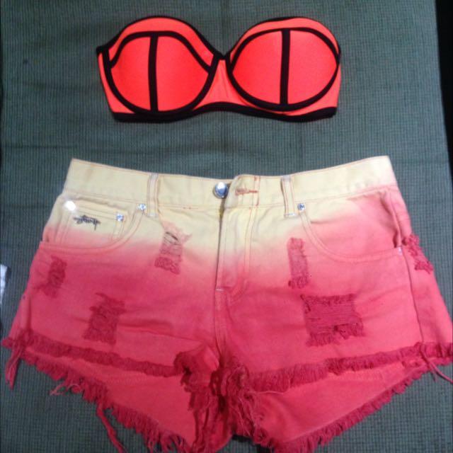 Bikini And Shorts