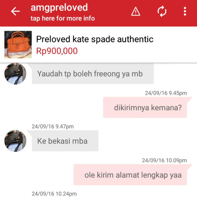 Blacklist Customer amgpreloved