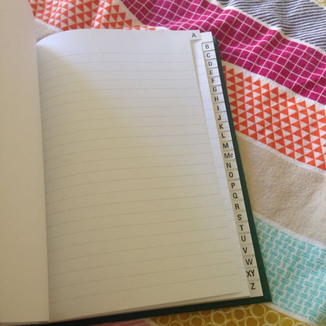 Brand New Collins A-Z Notebook